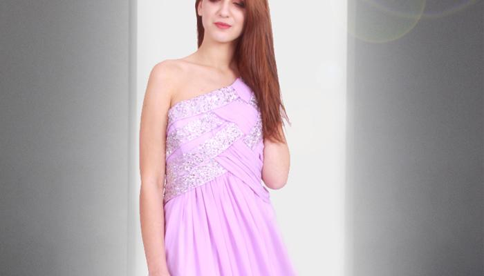 rochie de seara mov